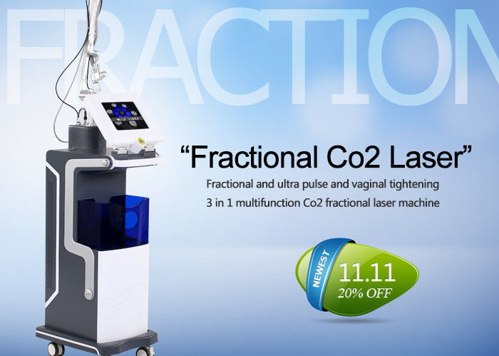10600nm Co2 Fractional Laser Treatment Machine For Skin Resurfacing / Acne Scars