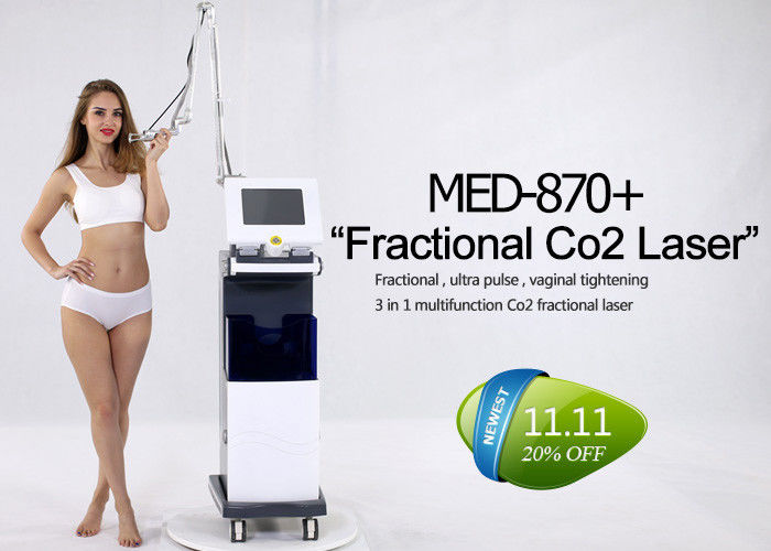 Multifunction Co2 Fractional Laser Machine For Acne Scar / Strech Mark Removal