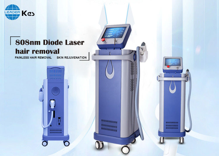 Painless and permanent hair removal 808nm diode laser machine 500W portable large spot size imported sapphire