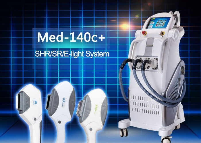 E-light IPL RF Permanent Hair Removal Beauty Equipment with RF Power 50w IPL Power 2500w