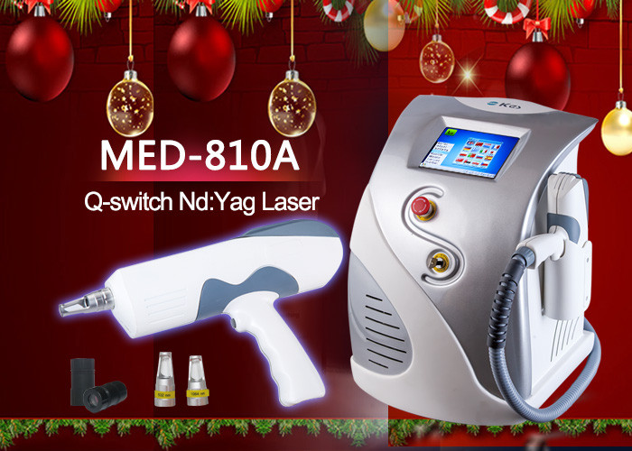 1600mJ Q - Switched ND YAG Laser tattoo removal , 2 yag bars with CE approval