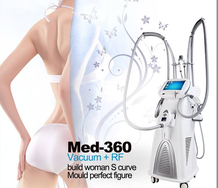 Vacuum Cavitation System for Skin Tightening , Body Shaping 5 in 1 System 4 Direction Rotation