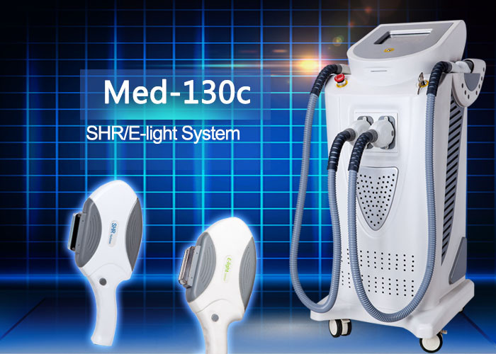 SHR super hair removal and E-light (IPL+RF) Beauty Machine 2 Handles