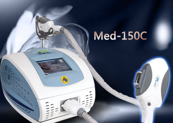 IPL Beauty Equipment shr hair removal IPL Beauty Equipment 1400W with LCD Touch Screen Net weight 25Kgs