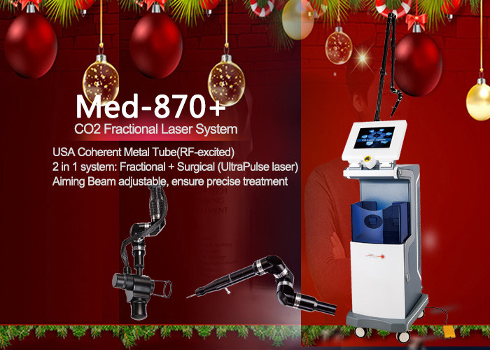 Co2 Fractional Laser Machine USA Coherent Metal Tube With Three Model Power Supply 40 W