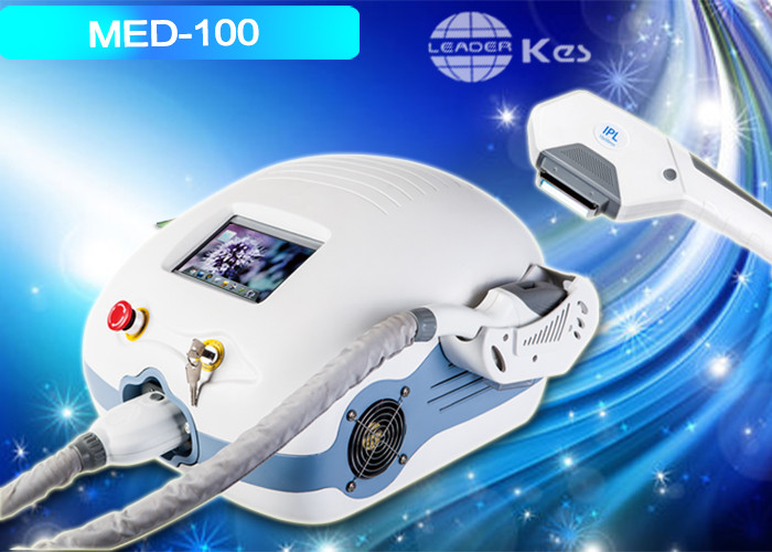640nm - 1200nm IPL Hair Removal Machines , Mini Depilation Hair Removal Devices