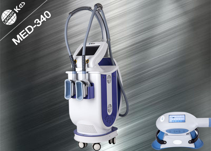 Vertical Fat Freezing Cryolipolysis Machine 2 Handpieces Same Temperature - 10℃