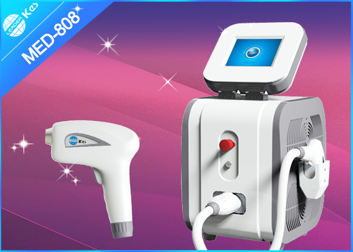 Portable Diode Laser 808nm Hair Removal Equipment For Beauty Salon