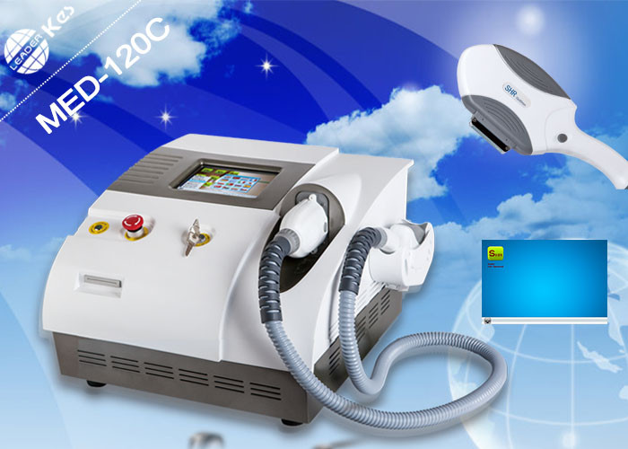 Professional IPL Laser Equipment Hair Depilation Machine 2000W Frequency 1 - 10 Hz