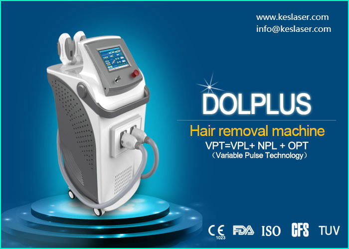 Wrinkle Removal IPL Hair Removal Machines With Variable Pulse Technology