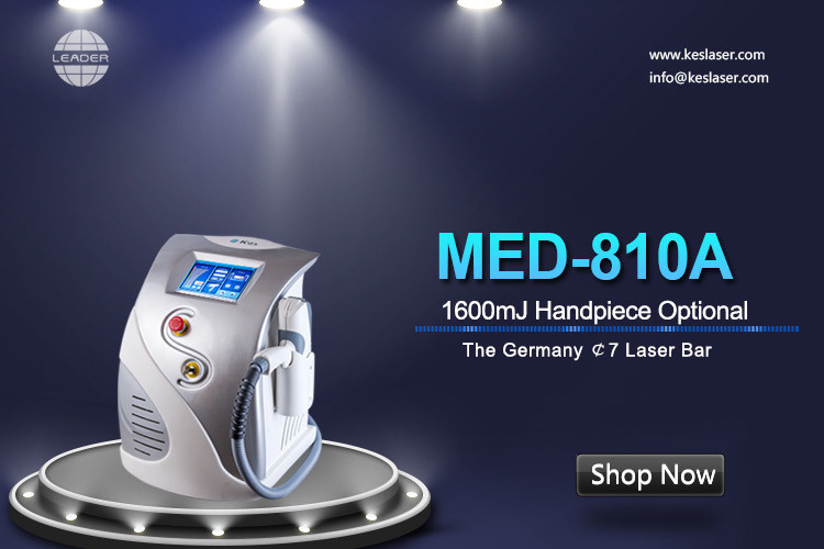 OPT Portable 1064nm 532nm Q Switch Nd Yag Laser Tattoo Removal Machine