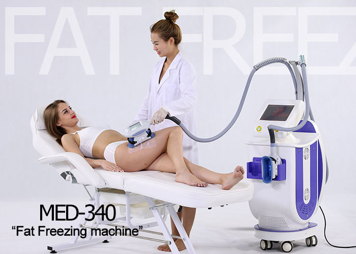 Non Surgical Cryolipolysis Body Slimming Machine , Cellulite Treatment Machine