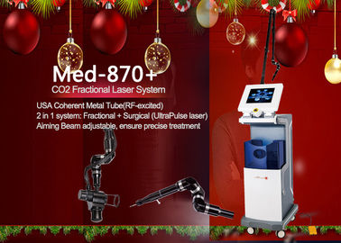 China High Efficienty RF Tube Co2 Fractional Laser for Skin Rejuvenation and Wrinkle Removal factory