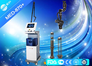 China 10600nm Co2 Fractional Laser Machine For Acne Scars , Radio Frequency Skin Tightening Devices factory