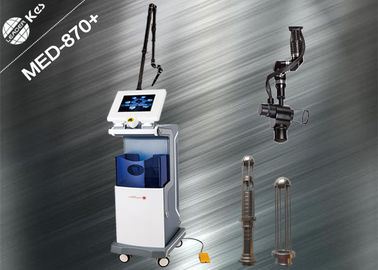 China Metal Tube RF Excited Co2 Laser 2 In 1 Fractional And Surgical Ultrapulse Laser factory