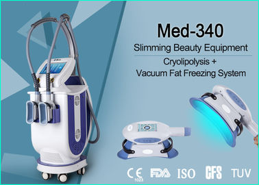 Professional Cellulite Reduction Cryolipolysis Vacuum Machine Continuous Contact Cooling