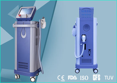 China Pain Free 600W Home Permanent Hair Removal Machine 808nm Diode Laser 0.5 - 10 Hz factory
