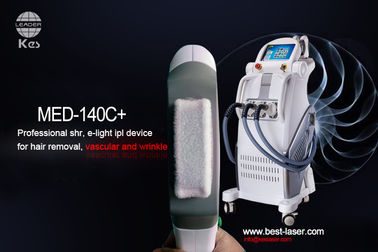 IPL SHR E-Light Hair Removal And Skin Rejuvenation Beauty Machine With Three Handles