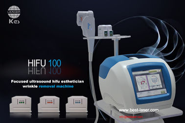 Powerful Hifu Machine Wrinkle Removal / Face Skin Tightening With CE Approval