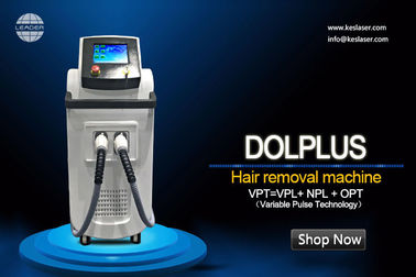 Multi-function beauty machine for hair removal skin rejuvenation with Vpl technology