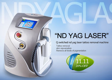 Multifunctional Q Switched Nd Yag Laser Tattoo Removal Machine CE ISO13485 Approved