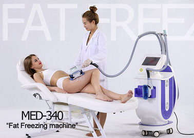 Non Surgical Cryolipolysis Body Slimming Machine , Cellulite Treatment Machine