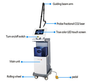 China Vertical Equipment Medical Co2 Fractional Laser Machine Scan removal Vaginal Tightening factory