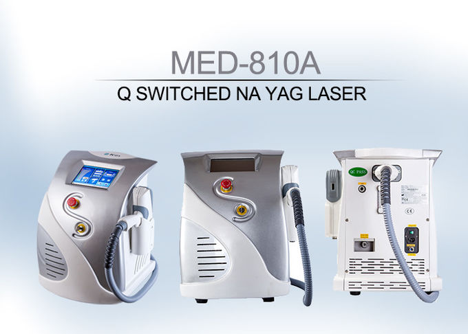 Beauty Salon Q-Switched ND YAG Laser Eyeliner Washing Tattoo Remoal Machine